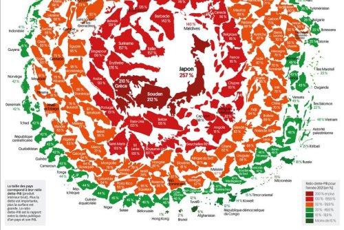 Infographie. Tour d'horizon de la dette publique