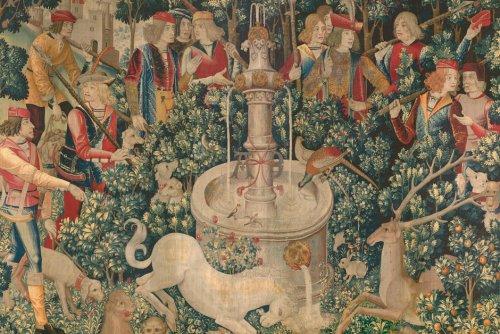 Héraldique. La licorne, emblème de l'Écosse