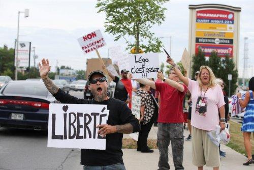 Décision. Le Québec adopte une loi contre les manifestants antivaccins