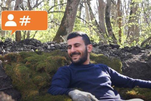 La personne à suivre. Aroutioun Akopian, architecte arménien de la forêt du Haut-Karabakh