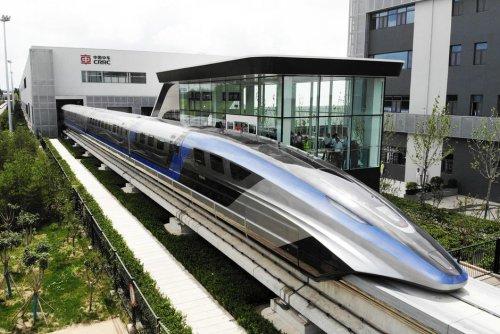 """Grande vitesse. Avec son train à lévitation, la Chine se rêve en """"superpuissance des transports"""""""