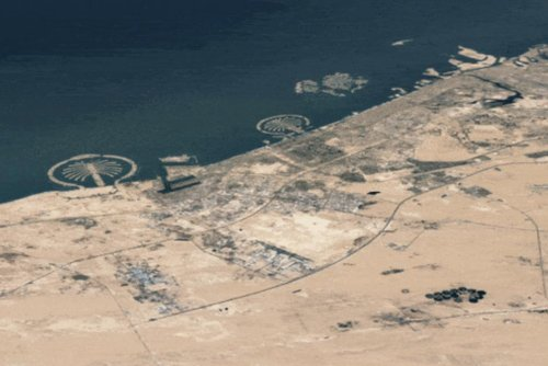 Vidéo. Avec Timelapse, Google Earth montre 37 ans de l'évolution du monde en accéléré