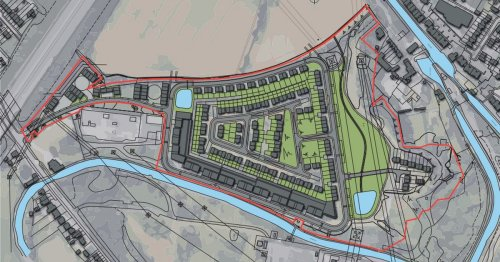Major homes and retail scheme by canal withdrawn