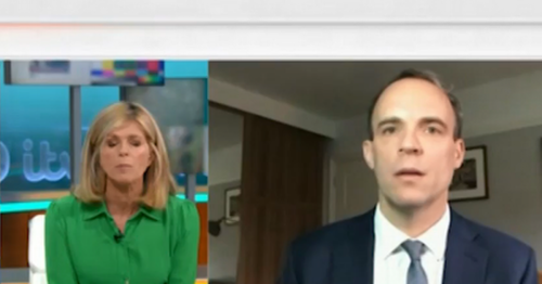 Dominic Raab slams 'cynical' Kate Garraway in frosty GMB interview