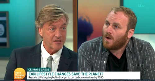 Richard Madeley steps in over GMB guest's jibe at Susanna Reid