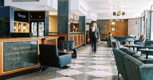 Coventry Telegraph Hotel in top 100 British hotels according to Sunday Times