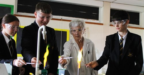 Popular lab technician retires from Coventry school after 50 years of service