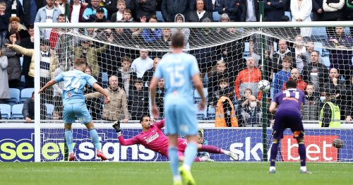 Mark Robins makes Coventry City penalty claim as key player avoids diver tag