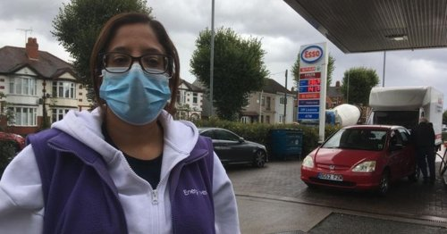 Fuel station owner faces abuse, long queues and endless phone calls