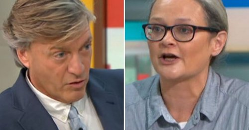 Richard Madeley forced to apologise over pet name for Insulate Britain activist