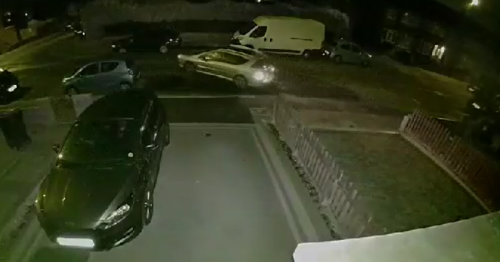 Coventry man's CCTV captures thief stealing car from his driveway