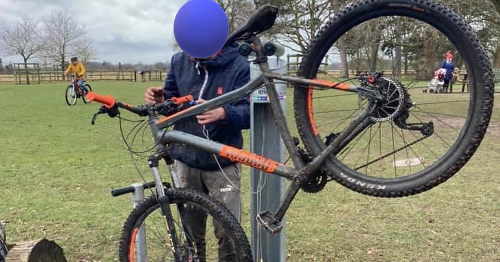 Teenager pushed over as thieves steal prized bike