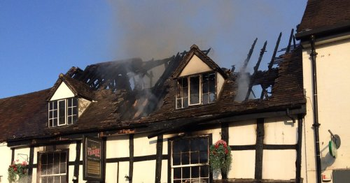 Investigation into what started fire at historic Warwickshire pub ongoing