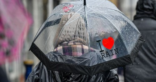 UK set for seven days of rain with thunderstorms forecast
