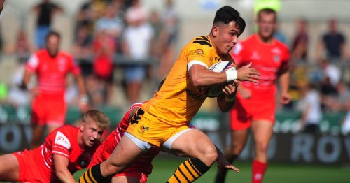 Callum Sirker stakes Wasps claim with friendly hat-trick