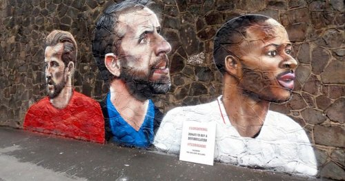 Three Lions murial couple stunned by 'special' response and cash raised