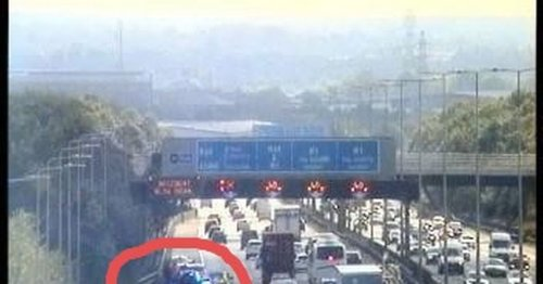 Delays expected on approach to M1 link to Coventry following collision