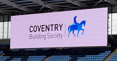 Ricoh Arena renamed the Coventry Building Society Arena
