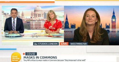 Good Morning Britain viewers outraged by MP's hidden gesture in interview