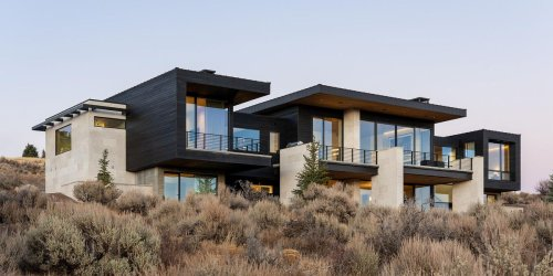 This Modern Abode Nestled in the Mountains of Park City Blends Function & Comfort