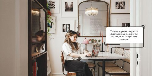 How This Emerging Art Dealer Turned a Corner of Her Studio Apartment Into a Dining Room