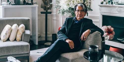 Inside Esteemed Fashion Designer Kenzo Takada's Parisian Apartment