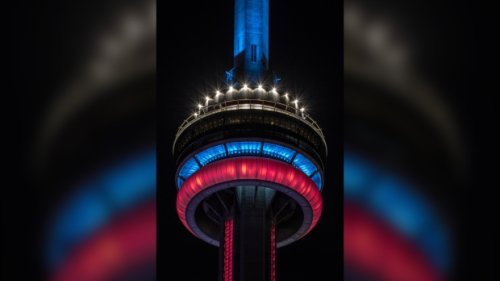 Tory calls for 'full and complete investigation' after CN Tower is lit up to honour Montreal Canadiens