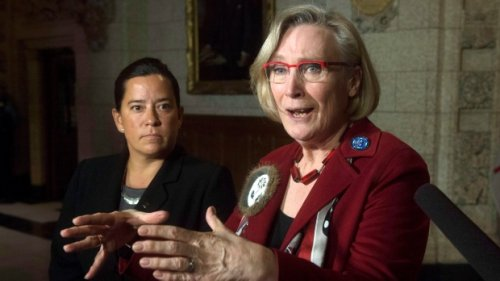 Bennett apologizes after Wilson-Raybould calls out her 'Pension?' message as racist