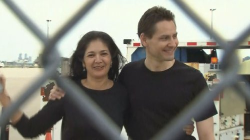 """""""It's wonderfully fantastic to be home,"""" Kovrig lands in Toronto after being released from Chinese imprisonment"""