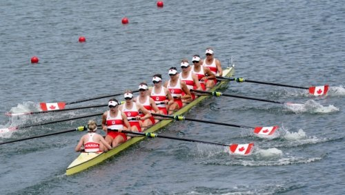 Canadian rowers capture gold in women's eight