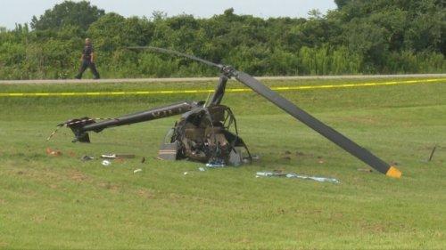 Pilot in hospital after helicopter crash in Brantford