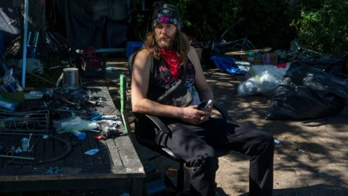 'I'll be crushed if I lose it:' fears of Toronto encampment clearings worry homeless