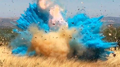 Exploding device at gender reveal party leads to wildfire in northern Alberta