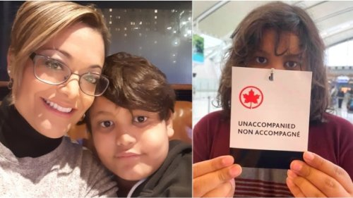 Toronto woman says Air Canada forced her 11-year-old son to fly home from Mexico unsupervised