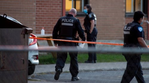 Car hits 9 people at Quebec polling station; status of 77-year-old woman 'uncertain'