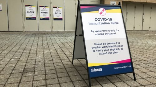 Toronto opens up another block of COVID-19 vaccination appointments for next week