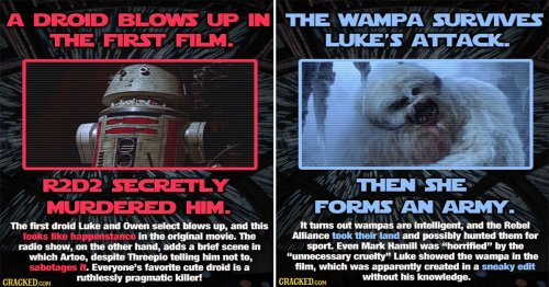 21 'Star Wars' Unanswered Questions And Bizarre Implications