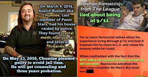 15 Celeb (Little-Known) Scandals