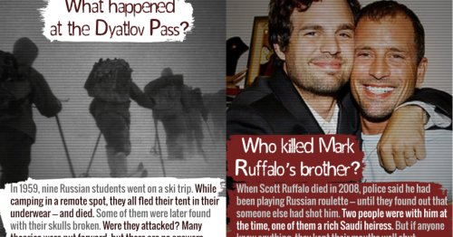 15 Unsolved Mysteries That Are Real Heavy, Man