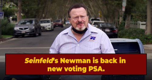 Newman is Back -- Seinfeld's Annoying TV Neighbor Stars In Voting PSA