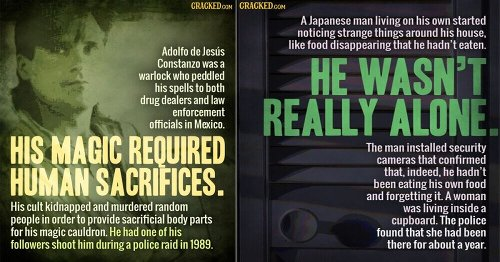 12 Creepy Urban Legends (That Turned Out To Be True)