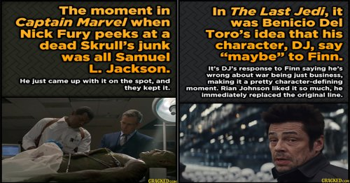 15 Iconic Movie Moments That Actors Made Up On The Spot