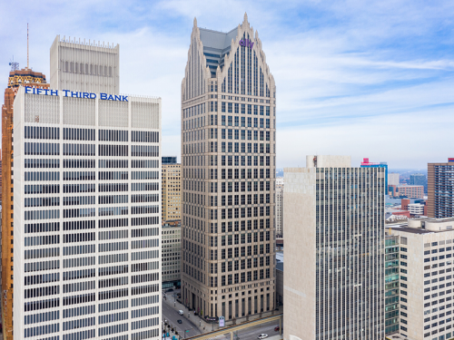 DTE spinoff moving headquarters into Gilbert's Ally Detroit Center   Crain's Detroit Business