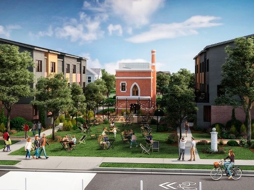 Former Scripps Mansion site in Woodbridge envisioned for 65 townhomes