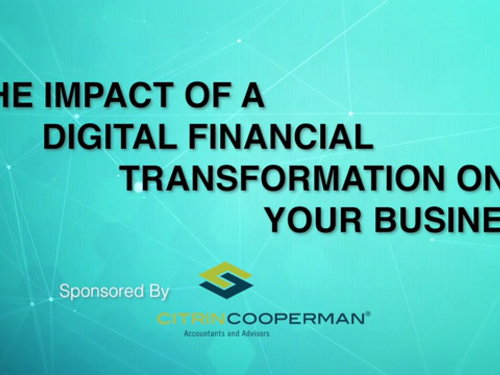 Crain's Content Studio Presents: The Impact of a Digital Financial Transformation on Your Business
