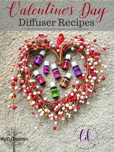 Valentine's Day Diffuser Recipes