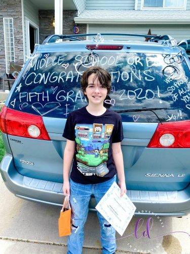 Baby Dude's Fifth Grade Graduation