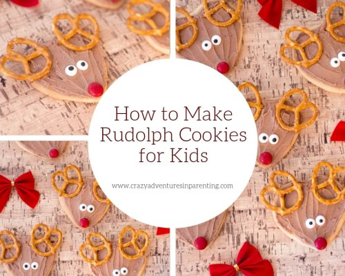 Rudolph Cookies for Kids | Crazy Adventures in Parenting