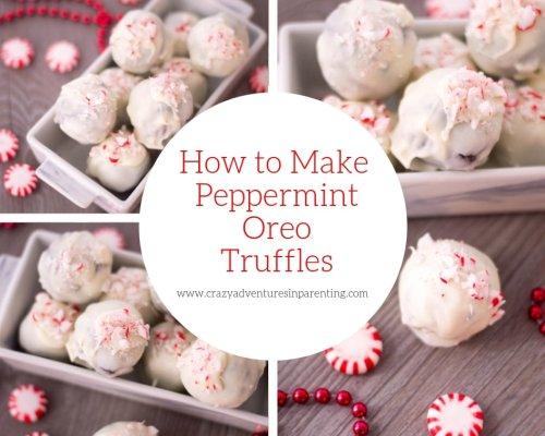The Best Peppermint Oreo Truffles