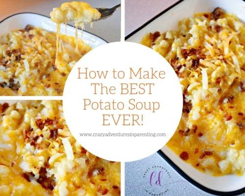 Best Homemade Potato Soup Recipe Ever!!